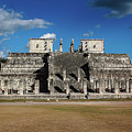 Cancun Mexico - Chichen Itza - Temple Of The Warriors by Ronald Reid