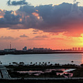 Cancun Mexico - Sunrise Over Cancun by Ronald Reid