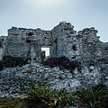 Cancun Mexico - Tulum Ruins - Palace by Ronald Reid