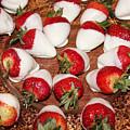 Candied Strawberries by Lorraine Baum