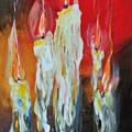 Candle Dance  by Larissa Pirogovski