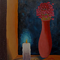 Candle In The Window by Arnold  Isbister