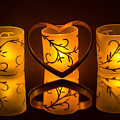 Candlelight Love by William Fredette-huffman