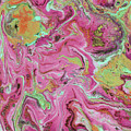 Candy Coated- Abstract Art By Linda Woods by Linda Woods