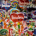 Candy Stand - La Bouqueria - Barcelona Spain by Jon Berghoff