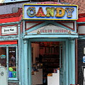Candy Store Cartoon by Sophie Vigneault
