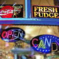 Candy Store Window by Steve Ohlsen