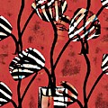 Candy Stripe Tulips 2 by Sarah Loft