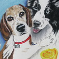 Canine Friends by Michelle Hayden-Marsan