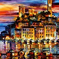 Cannes - France by Leonid Afremov