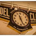 Cannes - Market Clock  by Stewart Waite