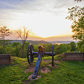 Cannon At Fort Boreman by Jonny D