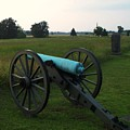 Cannon At Gettysburg 2 by Eric  Schiabor