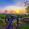 Cannon At Sunset by Jonny D