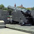 Cannon At The Castillo by D Hackett
