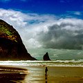 Cannon Beach At Dusk IIi by David Patterson