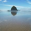 Cannon Beach, Oregon by Charmian Vistaunet