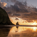 Cannon Beach Sunset by Justin Johnson