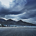 Cannon Beach Under Clouds by John Christopher