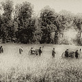 Cannon Fire At Gettysburg  by Bill Cannon