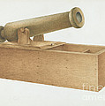 Cannon-shaped Ballot Box by Joseph Ficcadenti