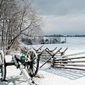Cannon Under Snow by Kat Zalewski-Bednarek