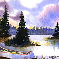 Canoe On Land by Mary Lomma