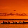 Canoe Paddlers by Joe Carini - Printscapes