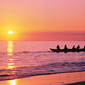 Canoe Paddlers by Tomas del Amo - Printscapes