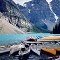 Canoe Rest  by Nadia Seme