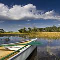 Canoeing In The Everglades by Debra and Dave Vanderlaan