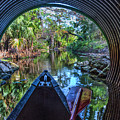 Canoeing Through The Tunnel by Debra and Dave Vanderlaan