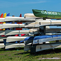 Canoes Cascaded by Jim Cole
