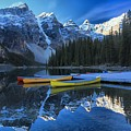 Canoes In Paradise by Adam Jewell