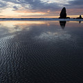 Canon Beach At Sunset 6 by Bob Christopher