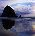 Cannon Beach Nature's Symphony by Bob Christopher