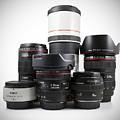 Canon Lenses by Brandon Alms