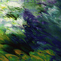 Canopy 3- Art By Linda Woods by Linda Woods