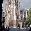 Canterbury Cathedral England by Richard Singleton