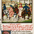 Canterbury Pilgrims by Granger