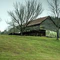 Cantilever Barn Sevier County Tennessee by Douglas Barnett