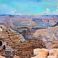 Canyon Blues by M Diane Bonaparte
