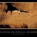 Canyon De Chelly Arizona Black Border by David Ross
