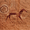 Canyon De Chelly Rock Art by Mike Penney