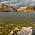 Canyon Lake Stormy Sky by Dean Hueber