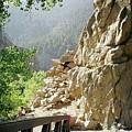 Canyon Rocks Horizontal by Brenda Ackerman