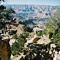 Canyon Shadows by Cathy Franklin