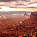Canyonland Rain by Robert Bales