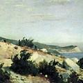 Cape Ai-todor Crimea 1879 21h33 5 Ivan Ivanovich Shishkin by Eloisa Mannion
