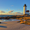 Cape Ann Annisquam Harbor Lighthouse by Juergen Roth